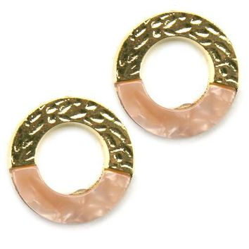 Fashion Circular Post Earrings