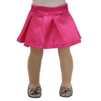 Fits 18 inch American Girl Doll Clothes Red Dress Elegant Princess Change Style By