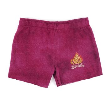 Butter Kids Camp Fire Cut Off Short