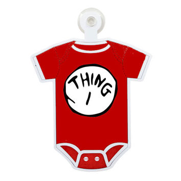 Dr. Suess Thing 1 Custom Printable Digital Iron On Transfer Clip Art DIY Tshirts Onesuits Instant Download