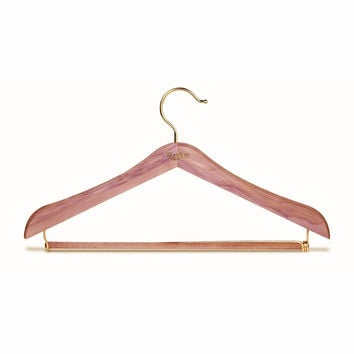 Standard Hanger w/Locking Pant Bar, Set of 4