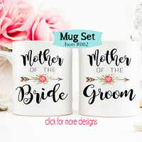 Mother of the Groom Gift, mother of the bride gift from daughter, Gift for mom, Mom Wedding Gift, Coffee Mug, Wedding Day Gifts