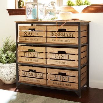 Marshall 6-Drawer Storage Unit