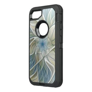 A Floral Dream Pattern Abstract Fractal Art OtterBox Defender iPhone 7 Case