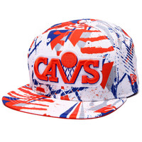 Cleveland Cavaliers Geomet trick 950 snapback hat by New Era