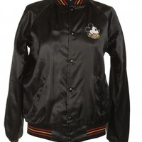 Mickey Mouse Black Coach Jacket - Vintage clothing from Rokit -