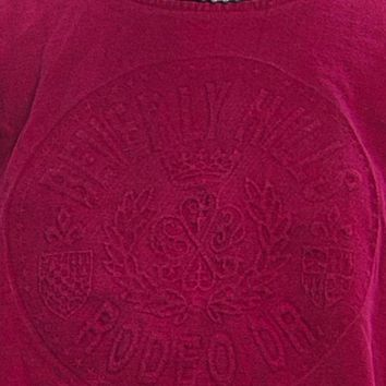 Vintage 80's Beverly Hills Rodeo Drive Embossed Tee - One Size Fits Many