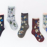 Minä Perhonen - Margurite Socks