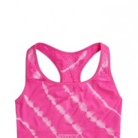 Tie Dye Mesh Back Sports Bra | Girls Bras Pjs, Bras & Panties | Shop Justice