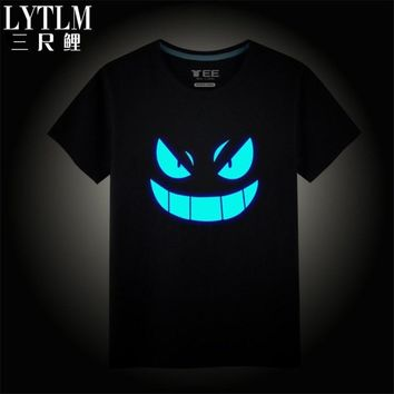 LYTLM  Shirt Boys Cartoon Character Tee Shirts Japan Harajuku Style Japanese Anime Clothing Boys Tshirt Summer Boys TopsKawaii Pokemon go  AT_89_9