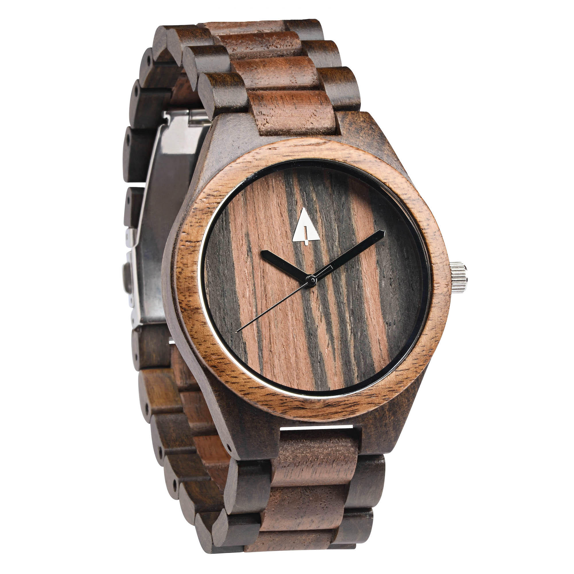 All Wood Watch Ebony Walnut 37 From Treehut Co