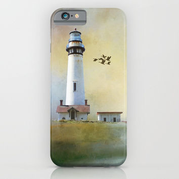 Lighthouse Bay II iPhone & iPod Case by Theresa Campbell D'August Art