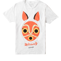 Studio Ghibli Princess Mononoke Mask T-Shirt