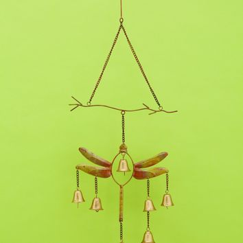 Dragonfly w/Bells Wind Chime
