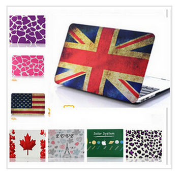 laptop Pattern Design Matt Hard Case Rubberized Cover Skin For MacBook Air 11 13 For Macbook Air A1370 /A1466/A1369/ A1466