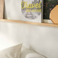 Alyson Johnson For DENY Travel The World Stretched Canvas Wall Art