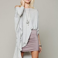 Free People High Waisted Scrunch Skirt