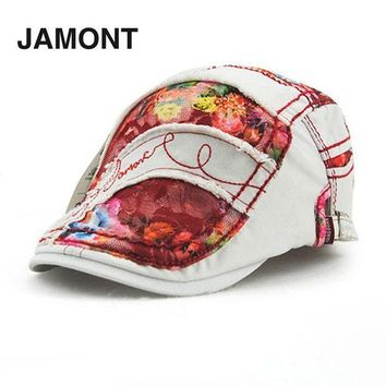 DCCKWJ7 JAMONT Women Ladies Korean Style Baseball Cap Graffiti Lace Type Spring Summer Cotton SunShade Baseball Caps Hats 2016 Hot Sale