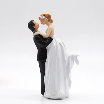 Cake Accessory Topper Bride And Groom Resin Wedding Decoration