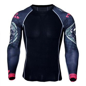 Men's long-sleeved quick-drying T-shirt outdoor sports breathable wicking quick-drying clothes