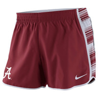 Alabama Crimson Tide Nike Women's Warp Pacer Performance Shorts – Crimson