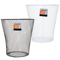 Bulk Essentials Wire Wastebaskets, 10.75 in. at DollarTree.com