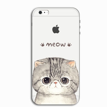 Cute Kitty Cat Personal Tailor iPhone 7 7 Plus & iPhone 5s se 6 6s Plus Case Cover + Gift Box-466