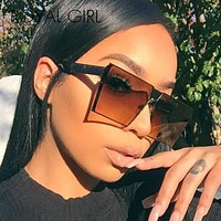 ROYAL GIRL 2017 New Color Women Sunglasses Unique Oversize Shield Glasses  ss953