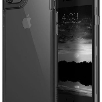 DCK4S2 Caseology Skyfall Series iPhone 7 / 8 Cover Case with Clear Slim Protective for Apple iPhone 7 (2016) / iPhone 8 (2017) - Matte Black