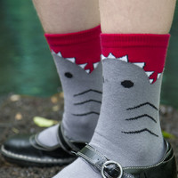 Kid's Shark Midcalf - Sock Dreams