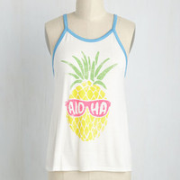 Name It & Win It Pineapple Top | Mod Retro Vintage Sweaters | ModCloth.com