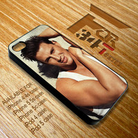 Apple iPhone and iPod case Channing Tatum with tank top iphone 4 4s, iphone 5 5s 5c, iPod touch 4, iPod 5 case cover