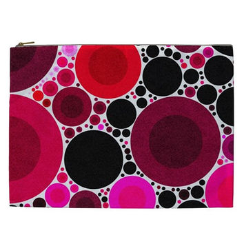 Retro Polka Dot Cosmetic Bag (XXL)