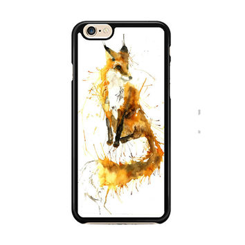 Splash Watercolor Fox IPhone 6 Case