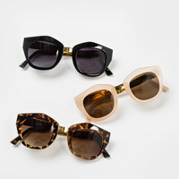 Chloe Gold Rim Sunglasses