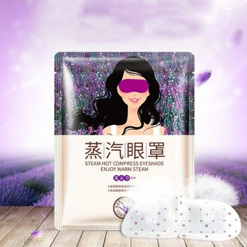 Lavender Eye Mask Massage Sleep Mask Eye Patches Remover Dark Circles Eye Care Anti Aging Anti Wrinkle Face Beauty