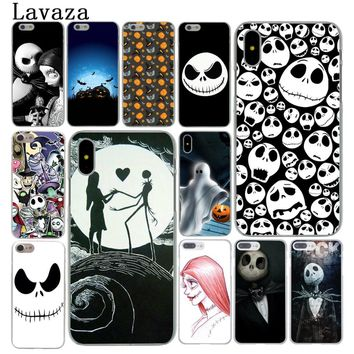 Lavaza Nightmare Before Christmas halloween Cover Case for Apple iPhone X XS Max XR 6 6S 7 8 Plus 5 5S SE 5C 4S 10 Phone Cases