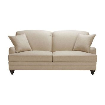 Pre-owned New Gray Ethan Allen Madison Sofa