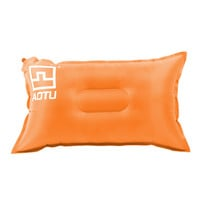 Orange Outdoor Automatic Inflatable Bed Travel Air Pillow Cushion Pad for Camping Hiking Backpacking