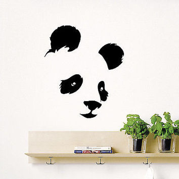 Shop Panda Bear Sticker On Wanelo