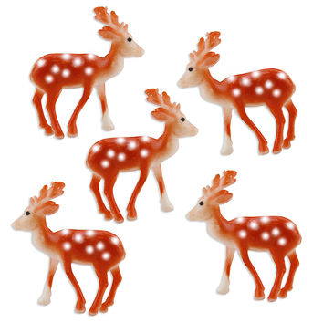 Small Deer Toppers