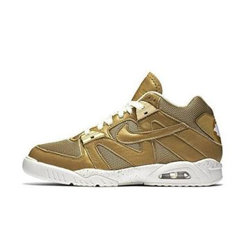 PEAPON Nike Men's Air Tech Challenge III Metalic Gold 749957-701 (SIZE: 11)