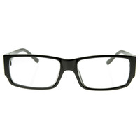 Modern Square Optical RX Frame Clear Lens Glasses 8035