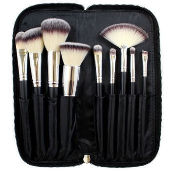 Morphe 9 Piece Deluxe Vegan Brush Set - Set 502
