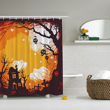 Best Halloween Shower Curtains Products On Wanelo