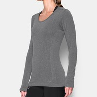 Women's UA Threadborne Seamless Heathered Long Sleeve | Under Armour US