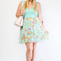 Plus Size Sasha Summer Garden Party Dress