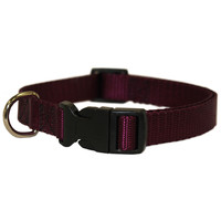 8in - 12in Adjustable Collar Burgundy, 2 - 12 lbs Dog By Majestic Pet Products