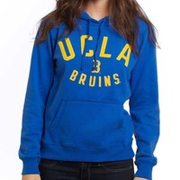 "UCLA Bruins Women's Arch Over ""B"" Hoodie - Blue"