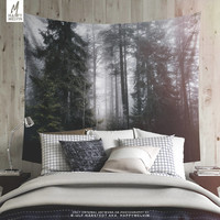 Into the forest we go - Wall tapestry - Tapestry - Wall hangings - Wanderlust - Nature - Forest wall tapestry - Home decor - Wall decor.